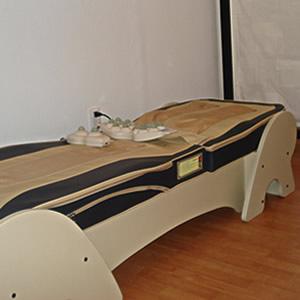 cama de termomasaje shiatsu