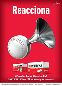 Cafiaspirina contra el dolor | Revista Merca2.0