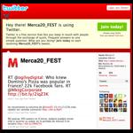 Twitter Merc20
