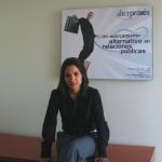 Andrea Perello de la agencia de rp Alter Praxis