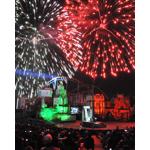 Espectaculo Beyond The Stars de Six Flags