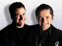 Mauricio Garnier y Warren Marenco