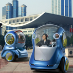 EN-V el auto del futuro de GM
