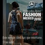 Mercedes-Benz Fashion México