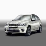 BMW X5 equipado con el kit deportivo M