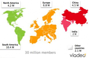 Viadeo Mapa