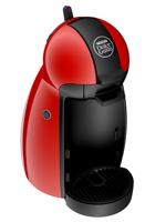 Piccolo-Cafetera en rojo