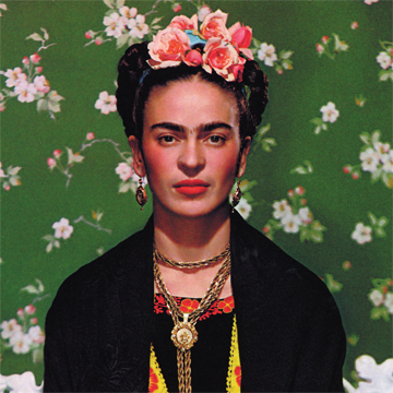 3 productos inspirados en Frida Kahlo