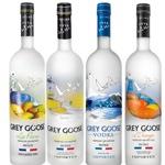 Botellas de vodka Grey Goose