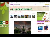 yahoo se pone bicentenario