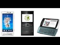 Dispositivos Sony Ericsson
