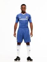 Drogba - Chelsea y Adidas