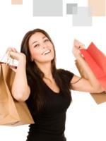 Mujer va de compras