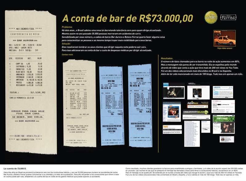 73000 Bar Tab