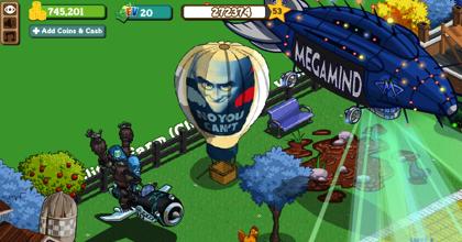 Megamind en Farmville