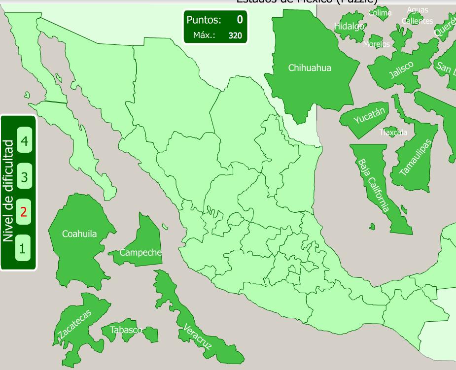 Sitio del da Mapas Flash Interactivos  Revista Merca20