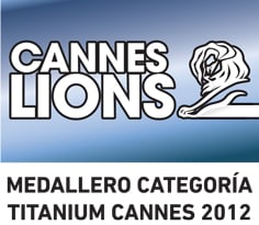 Medallero Titanium Cannes Lions 2012: México se llevó una medalla de bronce
