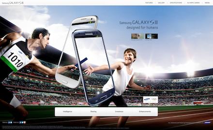 Samsung Galaxy Website