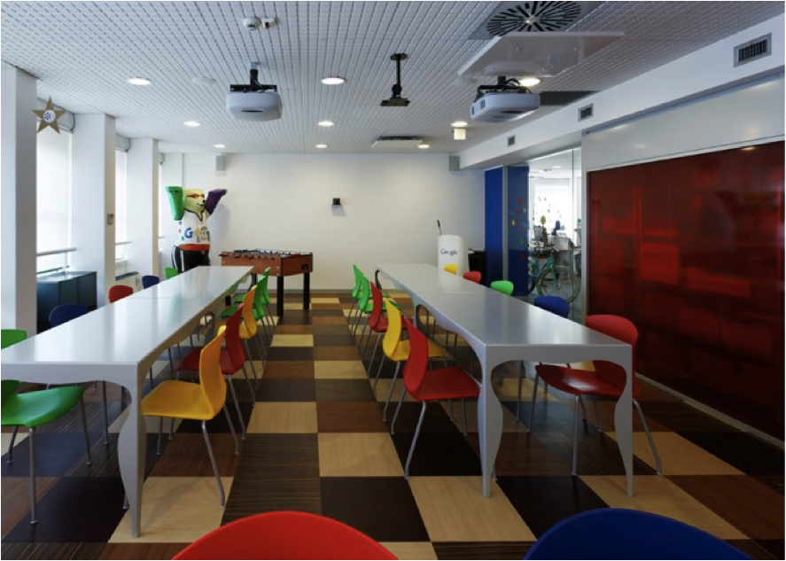5 impresionantes oficinas de google en el mundo revista for Office design google