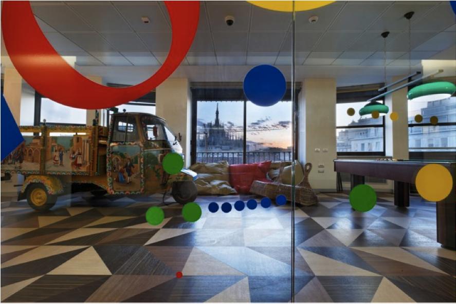 5 impresionantes oficinas de google en el mundo revista for Oficinas google barcelona