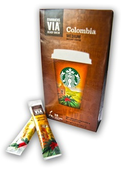 Starbucks entra al mercado de café soluble