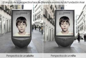 publicidad social niño
