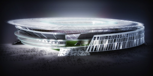 estadio roma