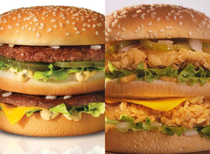 Big Mac derecha, Big Boss izquierda. Foto: reasonwhy.es