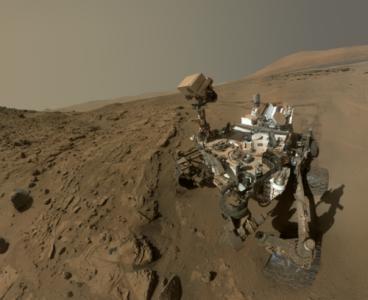 La selfie del Curiosity.   Imagen: NASA/JPL-Caltech/MSSS