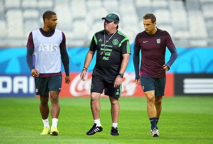 England Training & Press Conference - 2014 FIFA World Cup Brazil
