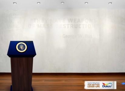 """""""Tienen armas de destrucción masiva"""" - George W. Bush."""