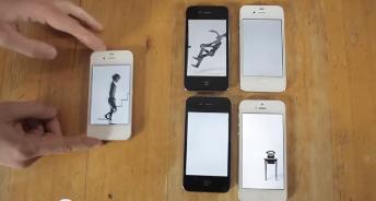 Creativo videoclip musical hecho sólo con dispositivos móviles de Apple