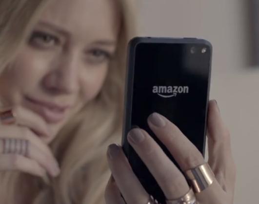 Product placement: el nuevo video de Hilary Duff no es más que un comercial del Amazon Fire Phone