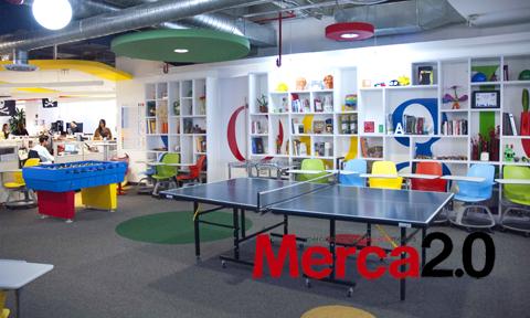 Oficinas de la semana conoce c mo son las instalaciones for Oficinas google barcelona