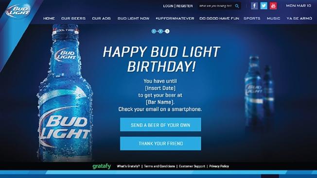 Budweiser comienza la venta de cerveza vía Facebook en los Estados Unidos
