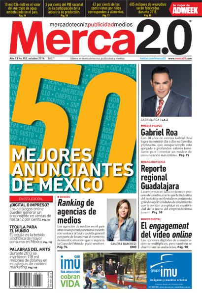 portada merca2.0 edición Octubre 2014