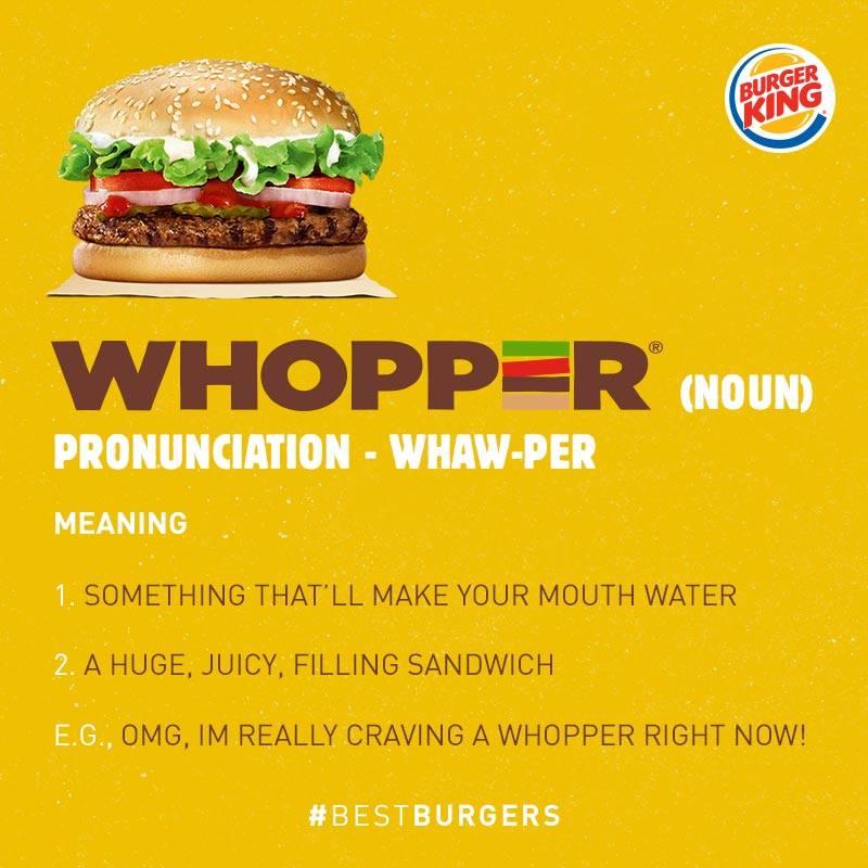 La estrategia de posicionamiento del producto estrella: el Whopper