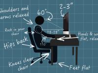 20 maneras para mejorar la postura en tu escritorio y ser más productivo