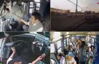 Insólito: Conductor de autobus cede el asiento a madre con sus hijos