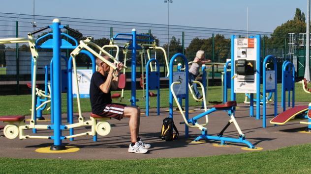 Los gimnasios al aire libre un nuevo y atractivo medio for Ver gimnasio