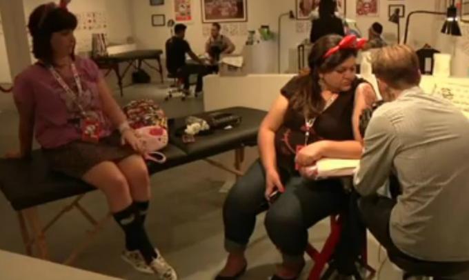 Captura de video AP / Los Angeles Convención
