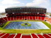 """Levi's transforma el estadio de los 49ers en un verdadero """"Field of Jeans"""""""