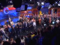 Así lució la despedida de Stephen Colbert de Comedy Central