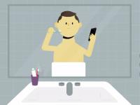 ¿Qué tan obsesionado estás con tu smartphone? un video te lo dice