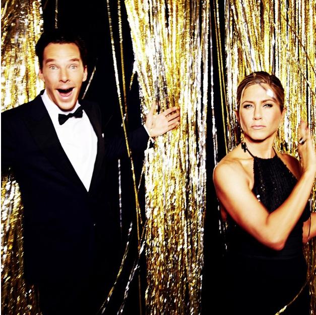 Un truco de Instagram generó impresionantes fotos de los Globos de Oro