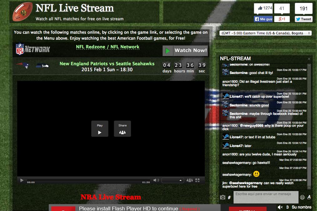 3 plataformas para ver el streaming del Super Bowl
