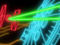 Versión neón del Star Wars episodio VII se vuelve viral