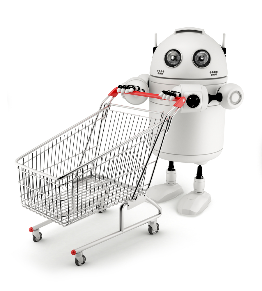 Robot vendedor