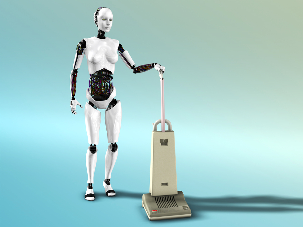 Robot auxiliar de limpieza