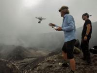 Investigadores sacrifican drones a un volcán en nombre de la ciencia